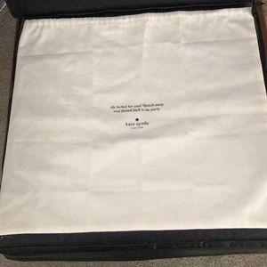 Kate Spade White Dust bag cover for handbags